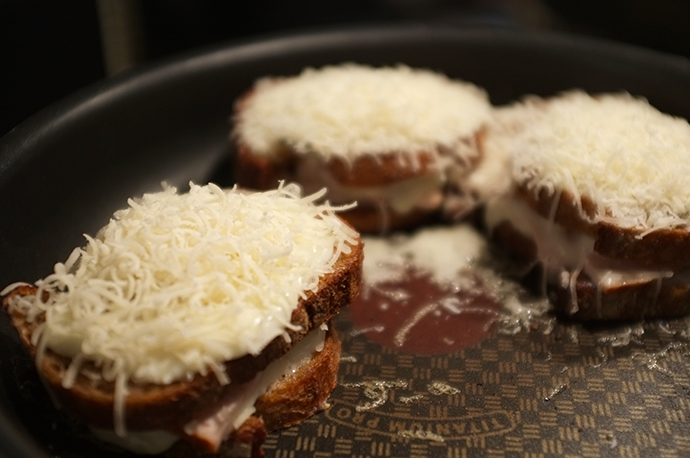 Croque monsieur maison