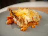 Lasagnes au potimarron et roquefort