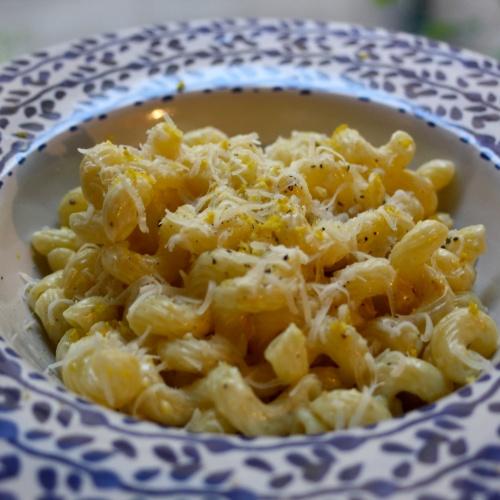 Pasta al limone (pâtes au citron)