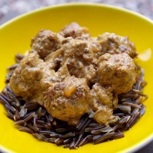 Boulettes de viande à l'indienne