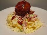 Spaghetti au chorizo